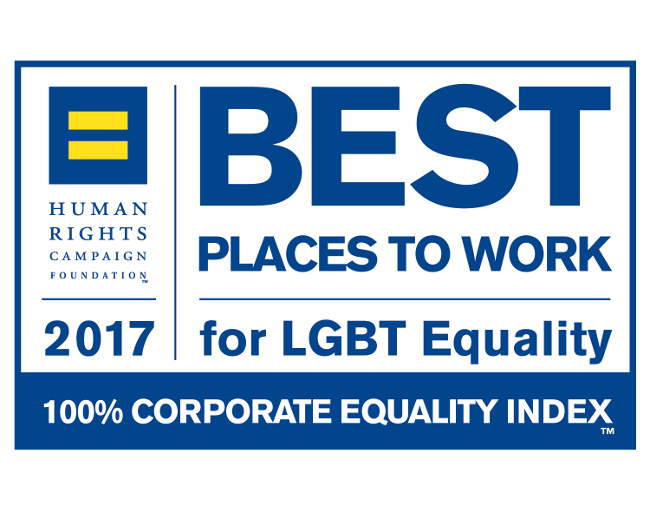Logo - Best Places to Work for LGBT Equality 2017