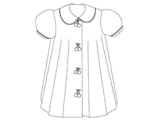 Cherry Dress trademark illustration