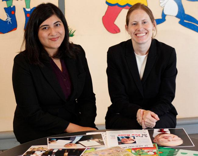Guerri Chairs Luz Henriquez, Amanda Schneider