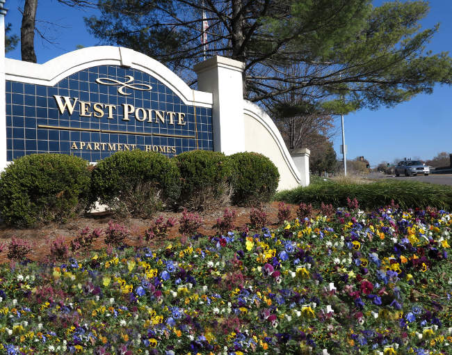 West Point apartments sign