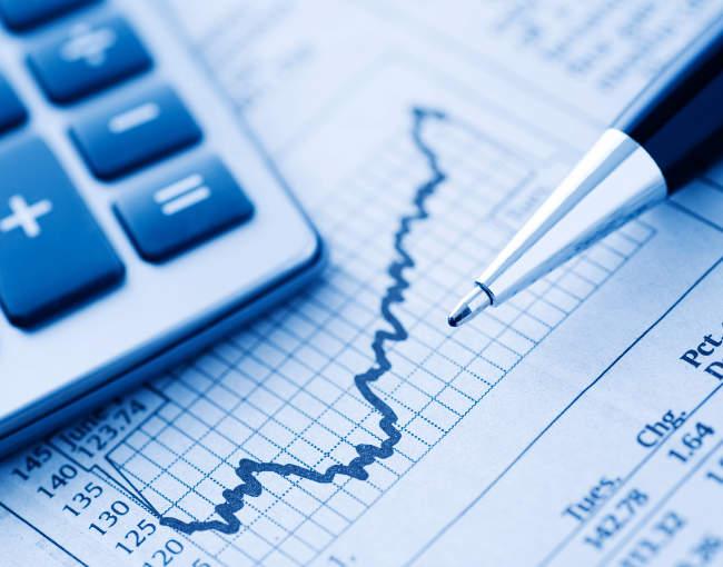 pen, graph, stock chart