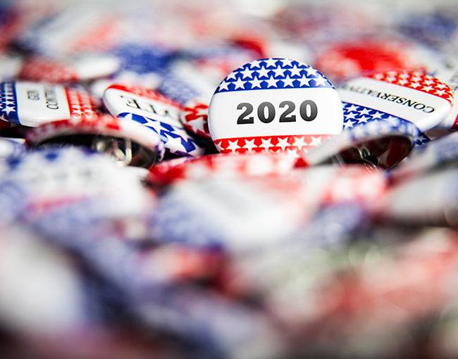 2020 election pins