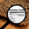 bread with nutrition facts