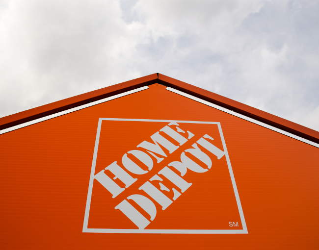 Exterior photo of a Home Depot