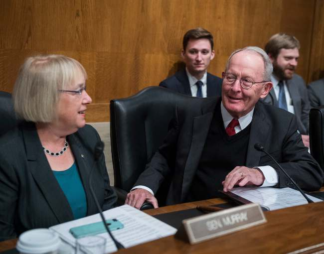Senators Murray and Alexander of the Senate HELP Committee