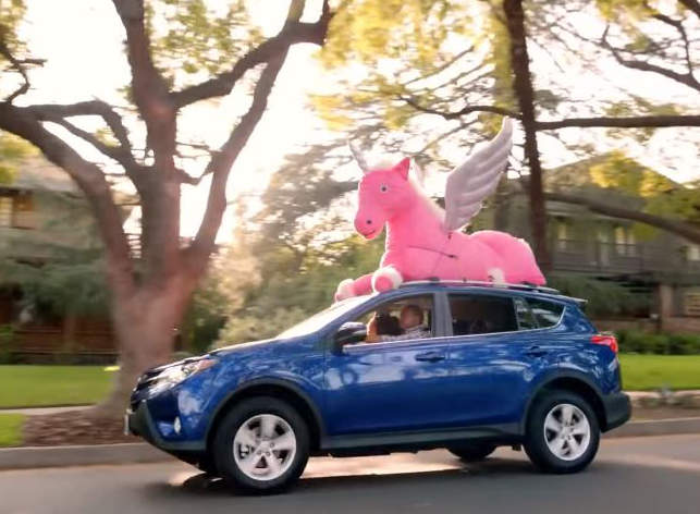 Stuffed Pegasus from Toyota commercial