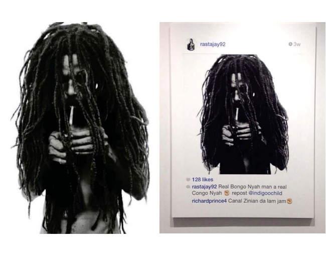 Comparison of Rastafarian images