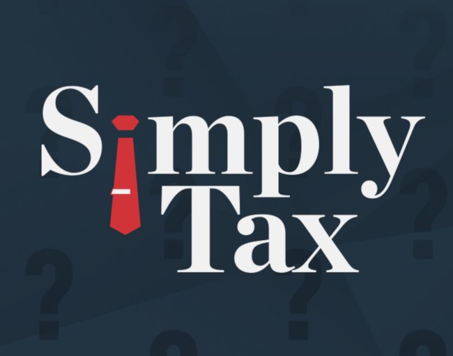Logo for Simply Tax podcast