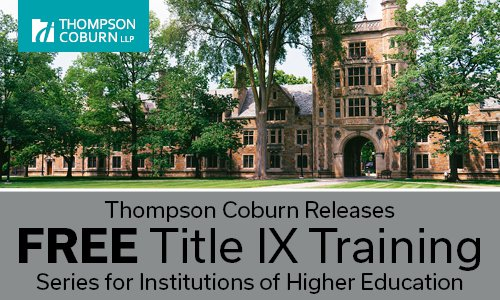 Free Title IX Training
