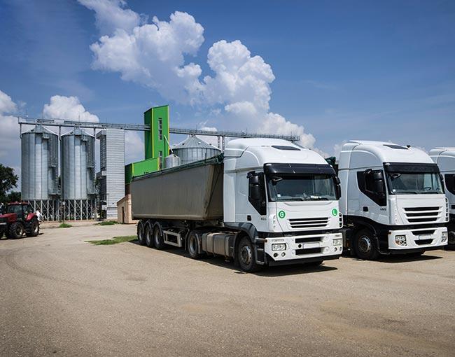 Food transporters - semi trucks