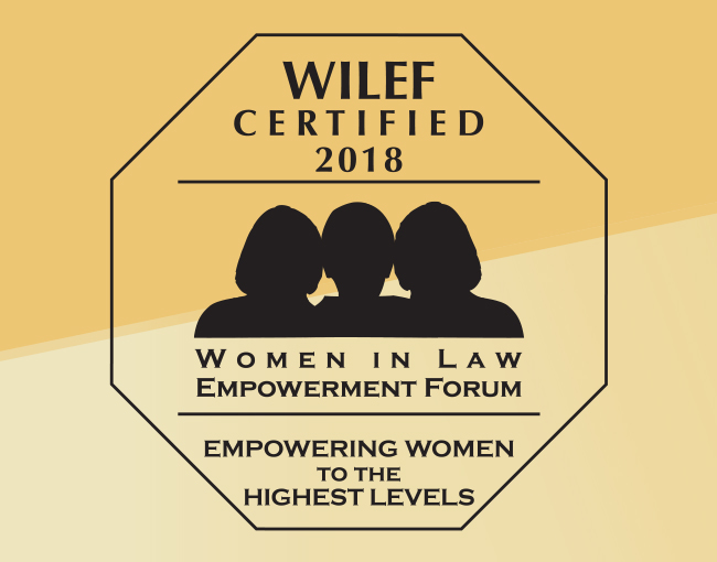 WILEF gold certification logo