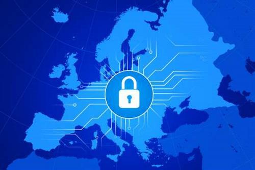 Illustration of EU cybersecurity