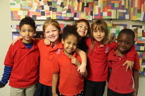 Lafayette Preparatory Academy students