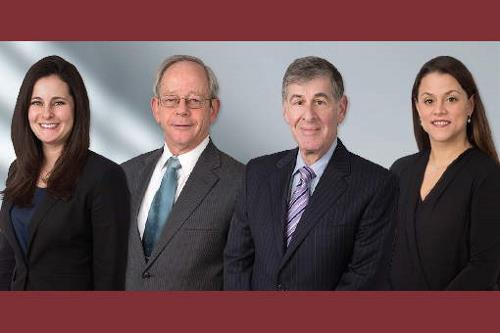 combo image of four attorneys