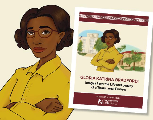 Gloria Bradford portrait and coloring book