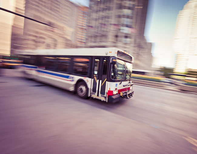 Chicago Transit bus