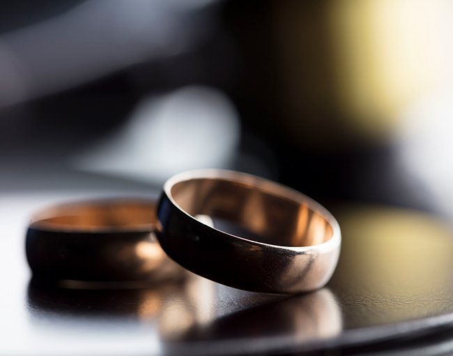 Wedding rings during divorce